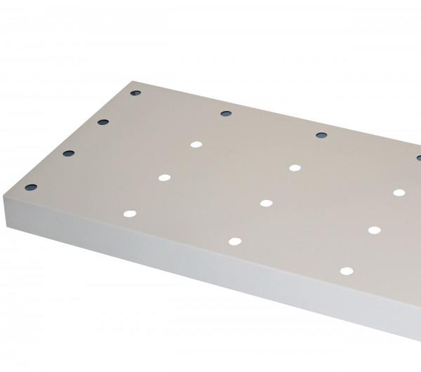 Lochblecheinsatz Standard für Modell(e): Q90, S90 mit Breite 1200 mm, Stahlblech pulverbeschichtet glatt