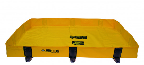Leckage-Faltwanne ohne Gitterrost 1400x1400x200, Textil PVC-beschichtet