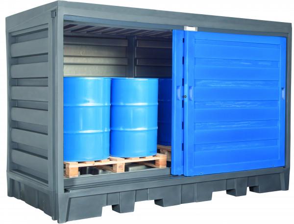 Depot unterfahrbar PE ohne Gitterrost 3200x1740x2170, Polyethylen