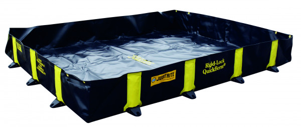 Leckage-Faltwanne befahrbar ohne Gitterrost 1400x2600x305, Textil PVC-beschichtet