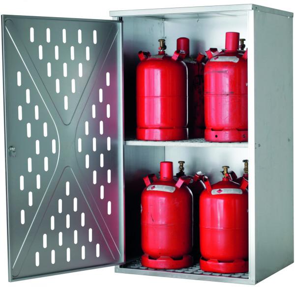 Flüssiggasflaschenschrank G-PG Modell GPG.150.084.P in mit x (), Stahlblech verzinkt