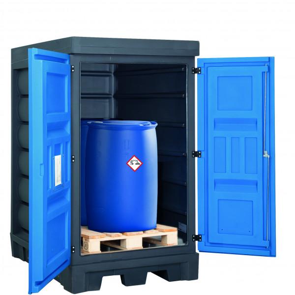 Depot unterfahrbar PE ohne Gitterrost 1140x1480x1980, Polyethylen
