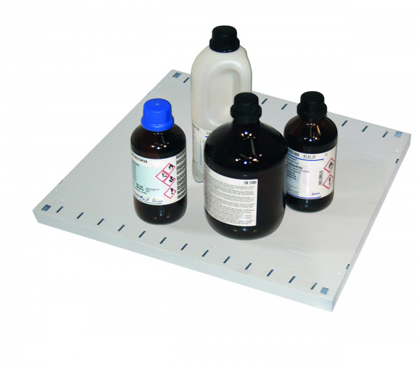 Fachboden Standard für Modell(e): CS mit Breite 545 mm, Stahlblech pulverbeschichtet glatt