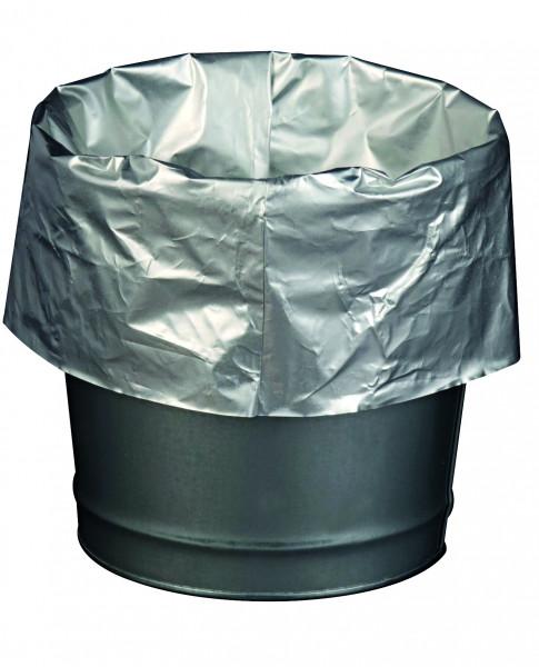 Abfallsäcke alubeschichtet für Sicherheitstandascher Verpackungseinheit: 2 Stück