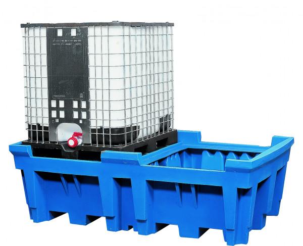 IBC-Station PE-LD ohne Gitterrost 2260x1430x720, Polyethylen (low density)