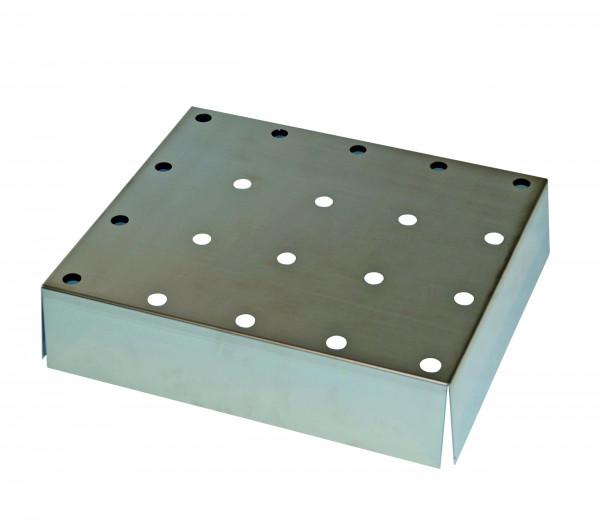 Lochblecheinsatz Standard für die Verwendung in STAWA-R-Auffangwannen für Modell(e): Q90, Q30, S90 mit Breite 600 mm, Edelstahl 1.4016 roh