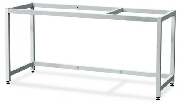 Untergestell Stahl (RAL7035/stehend) für GAP mit Breite 1800 und Tiefe 750/850 mm, Stahl pulverbeschichtet glatt
