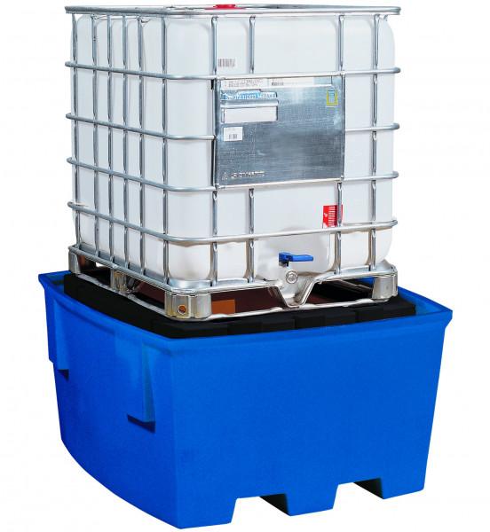 IBC-Station PE-LD mit Lagerbock 1380x1575x760, Polyethylen (low density)
