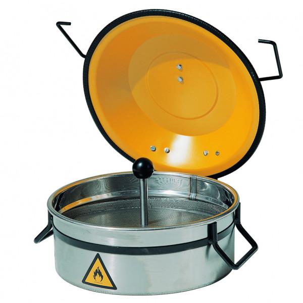 Kleinteilereiniger, 2,5 Liter aus Edelstahl, Edelstahl 1.4016 poliert