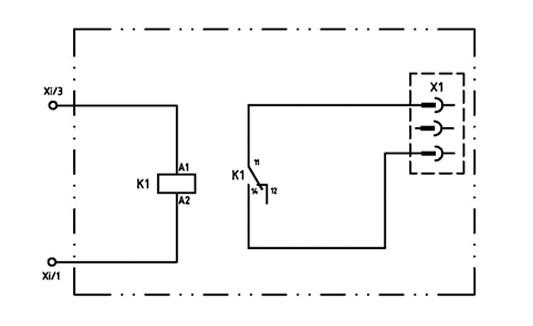 Elektrokomp GAP KT750/850 Potenzialfreier Schaltkontakt Betrieb,