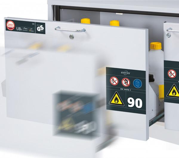 Nachrüstsatz Selbsteinzugsdämpfung SOFT-CLOSE für Modell(e): UB90 mit Breite 1100 mm
