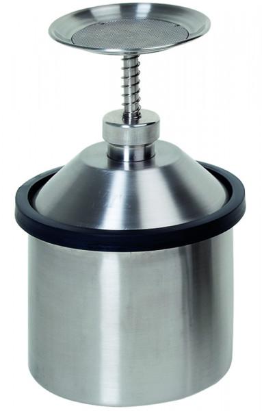 Sparanfeuchter, 2 L Edelstahl, Edelstahl 1.4404 poliert
