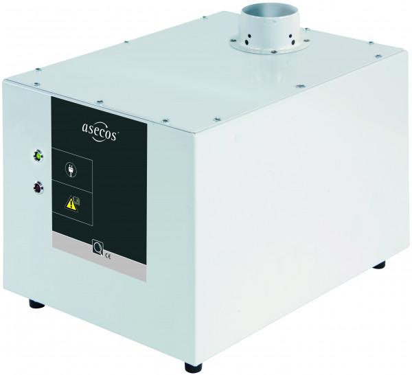 Modul zur Volumenstromüberwachung COMFORT-LINE Modell APG.26.30-CL, Stahlblech pulverbeschichtet glatt