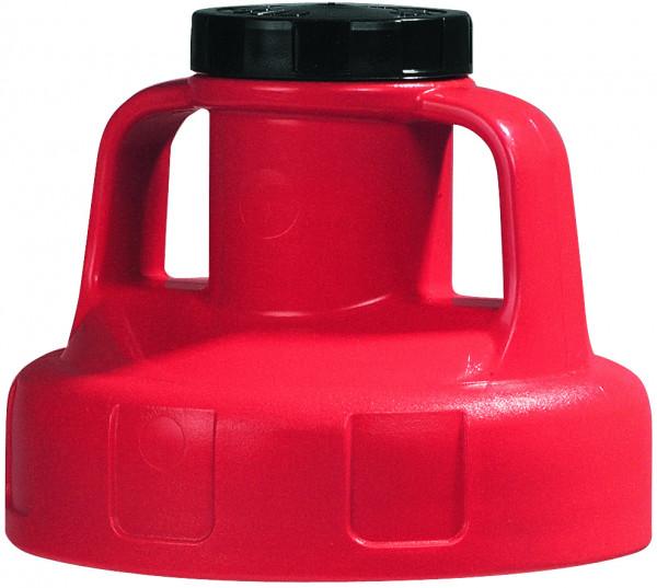Allzweckdeckel HDPE, Rot für Ölkanne, Polyethylen (high density)