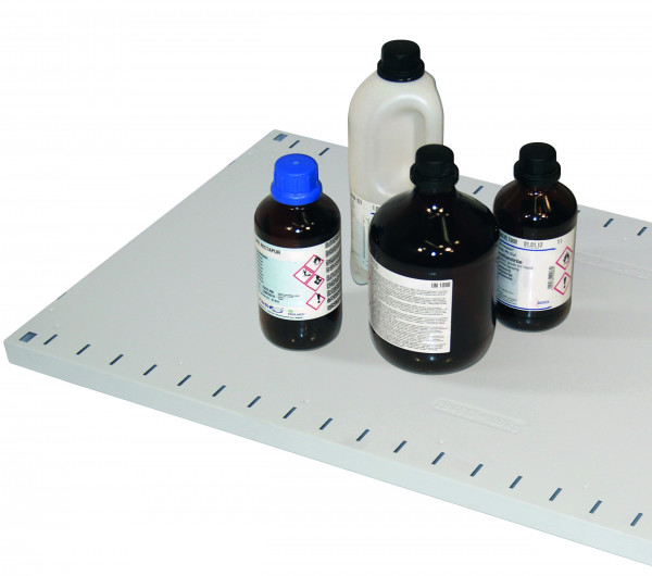 Fachboden Standard für Modell(e): CS mit Breite 810 mm, Stahlblech pulverbeschichtet glatt