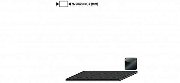 Antirutschmatte für Modell(e): UB90 UB30 mit Breite 1100 mm