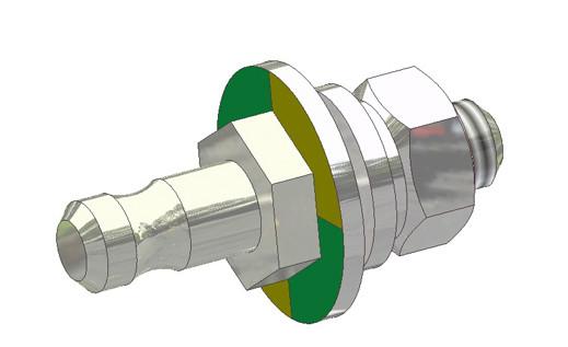 Erdung GAP KT750/850 Montage im Profil (Verbindung m. Wanne)