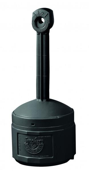 Standascher aus Polyethylen, schwarz, Inhalt: 15 Liter, Polyethylen