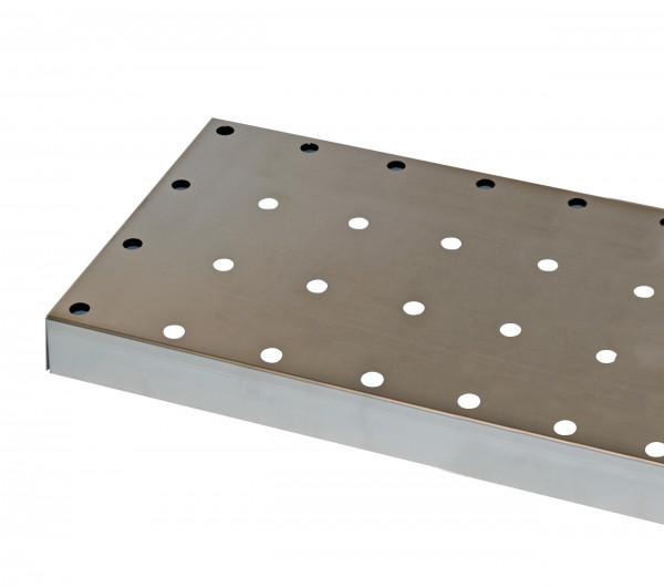 Lochblecheinsatz Standard für Modell(e): CS mit Breite 810 mm, Stahlblech verzinkt