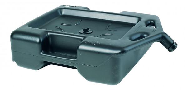 AltÖl- und Kühlflüssigkeitswanne PE Schwarz, 60 L, Polyethylen