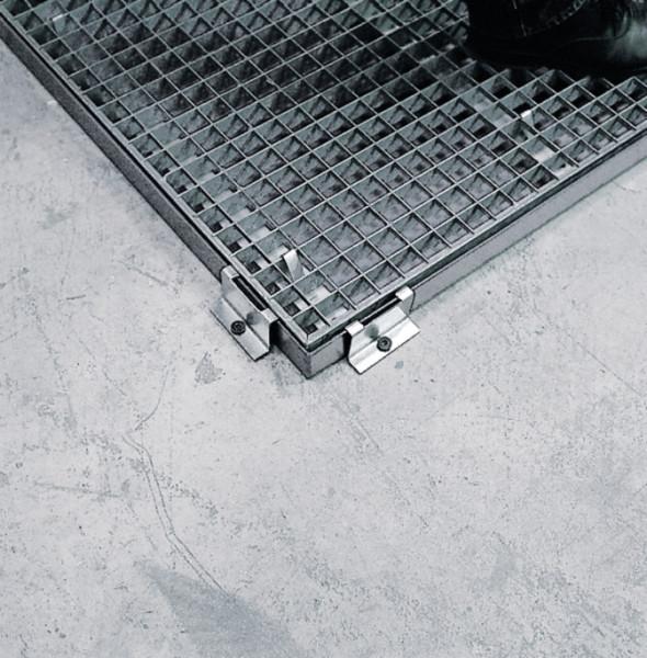 Randbefestiger Stahl verzinkt 20 x 80 mm, Stahl verzinkt