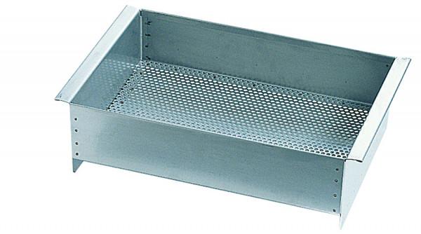 Teilekorb Masse: (BxTxH)400x300x125 mm, Edelstahl 1.4305 poliert