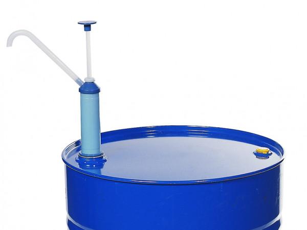 Handpumpe aus Polypropylen, manuell zum Abfüllen leichter Mineralöle, Polypropylen