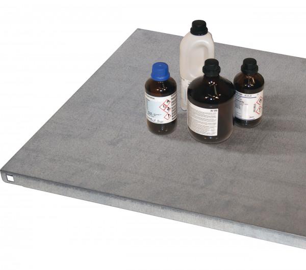 Fachboden Standard für Regal für Modell(e): XL90 mit Breite 1555 mm, Stahlblech verzinkt