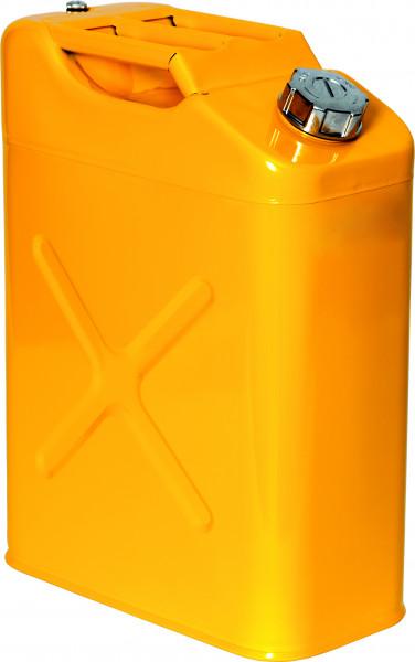 Lager-und Transportkanister UN-Zulassung Stahl lackiert 20 Liter, Stahlblech verzinkt und pulverbeschichtet