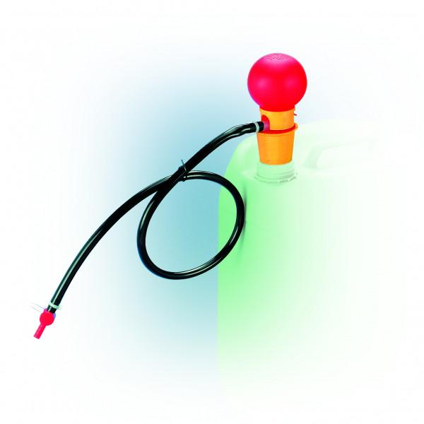 Handpumpe Standard aus PP mit Schlauch und Hahn 12 L, 700 mm ET, Polypropylen