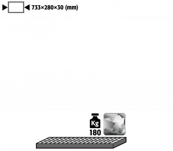 Gitterrost als Lagerebene für Modell(e): G30 mit Breite 900 mm, Stahl verzinkt