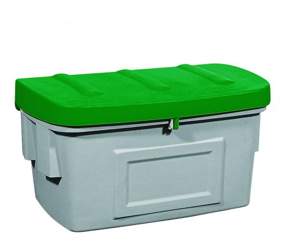 Streugutbehälter PE ohne Entnahmeöffnung Grün, 400 L, Polyethylen
