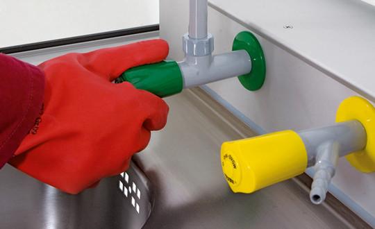 Medienversorgung Erdgas für GAP mit Tiefe 750/850 mm mit Medienkanal