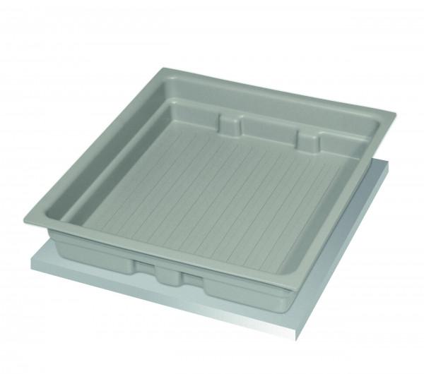 Wannenboden Standard metallfrei (Volumen: 11,00 Liter) für Modell(e): Q90, S90 mit Breite 600 mm, Polypropylen roh