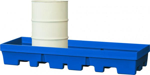 Auffangwanne PE-LD ohne Gitterrost 2460x845x350, Polyethylen (low density)