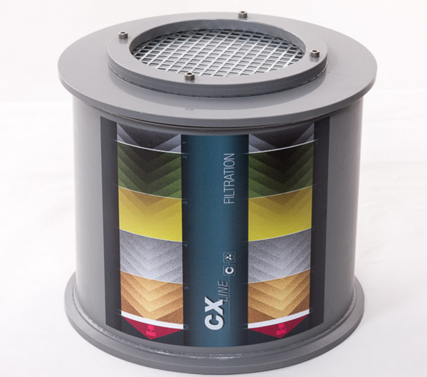 Aktivkohle-Neufilter für Modell(e): CX, SLX mit Breite 1055/1200 mm, Aktivkohle