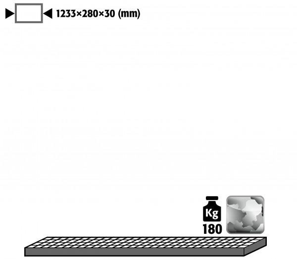 Gitterrost als Lagerebene für Modell(e): G90 mit Breite 1400 mm, Stahl verzinkt