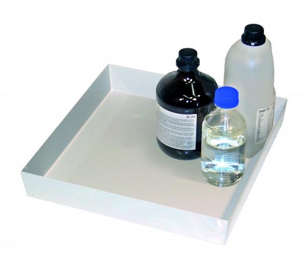 Wannenboden Standard (Volumen: 11,50 Liter) für Modell(e): Q90, S90 mit Breite 600 mm, Stahlblech pulverbeschichtet glatt