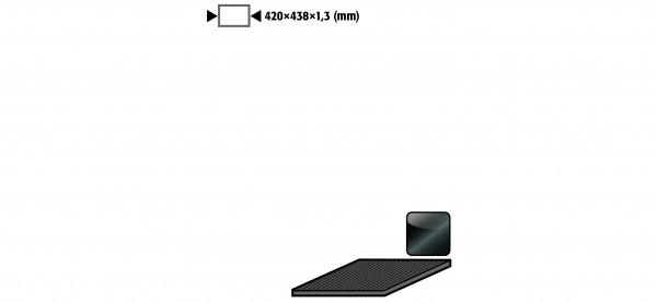 Antirutschmatte für Modell(e): UB90 UB30 mit Breite 590 1100 und 1400 mm