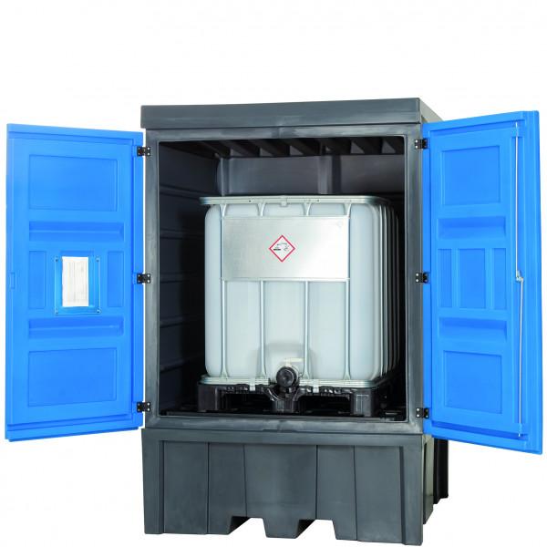 Depot unterfahrbar PE ohne Gitterrost 1560x1550x2330, Polyethylen