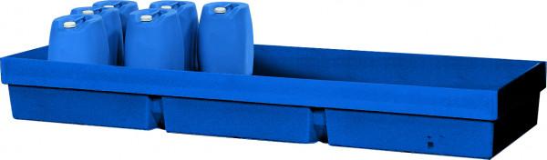 Auffangwanne PE-LD ohne Gitterrost 2460x845x285, Polyethylen (low density)