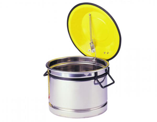 Wasch- und Tauchbehälter aus Edelstahl 10 Liter, Edelstahl 1.4301 poliert