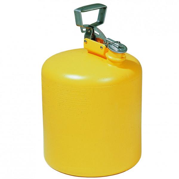 Sicherheitsbehälter 19 L, Gelb aus Polyethylen, ca. Ø 320 x H 430 mm, Polyethylen