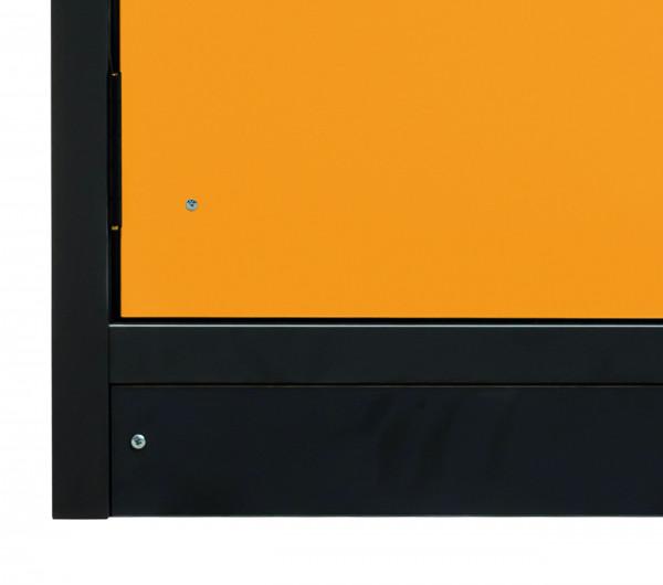 Sockelblende für Modell(e): Q30 mit Breite 1200 mm, FP-Platte melaminharz-beschichtet