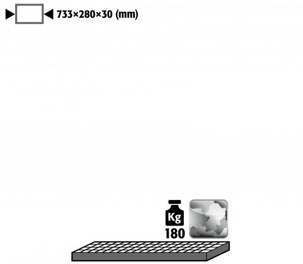 Gitterrost als Lagerebene für Modell(e): G90 mit Breite 900 mm, Stahl verzinkt