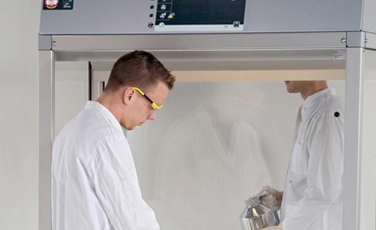 Rückwand PMMA (transparant) für GAP.095 mit Breite 1800 und Tiefe 750/850 mm, Polymethylmethacrylat