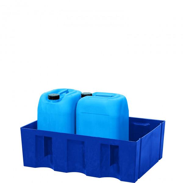Auffangwanne PE-LD ohne Gitterrost 725x525x235, Polyethylen (low density)