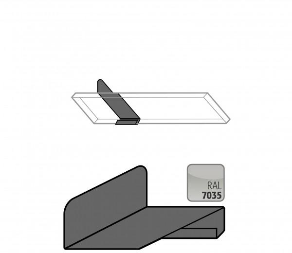 Flaschenhalter für Kleinflaschenlagerung (2 und 3 Liter) auf schrägen Fachböden für Modell(e): G90, G30 mit Breite 600-1400 mm, Stahlblech pulverbeschichtet glatt