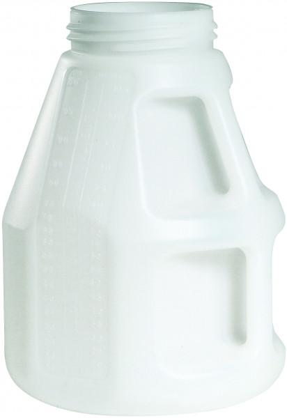 Öl-Kanne weiss aus HDPE, 10 Liter 245 x 350 mm, Polyethylen (high density)