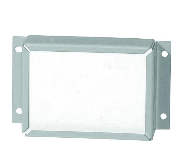 Rohrdurchführung für Modell(e): Q90, S90, UB90, XL90 mit Breite 590-1555 mm, Stahlblech pulverbeschichtet glatt